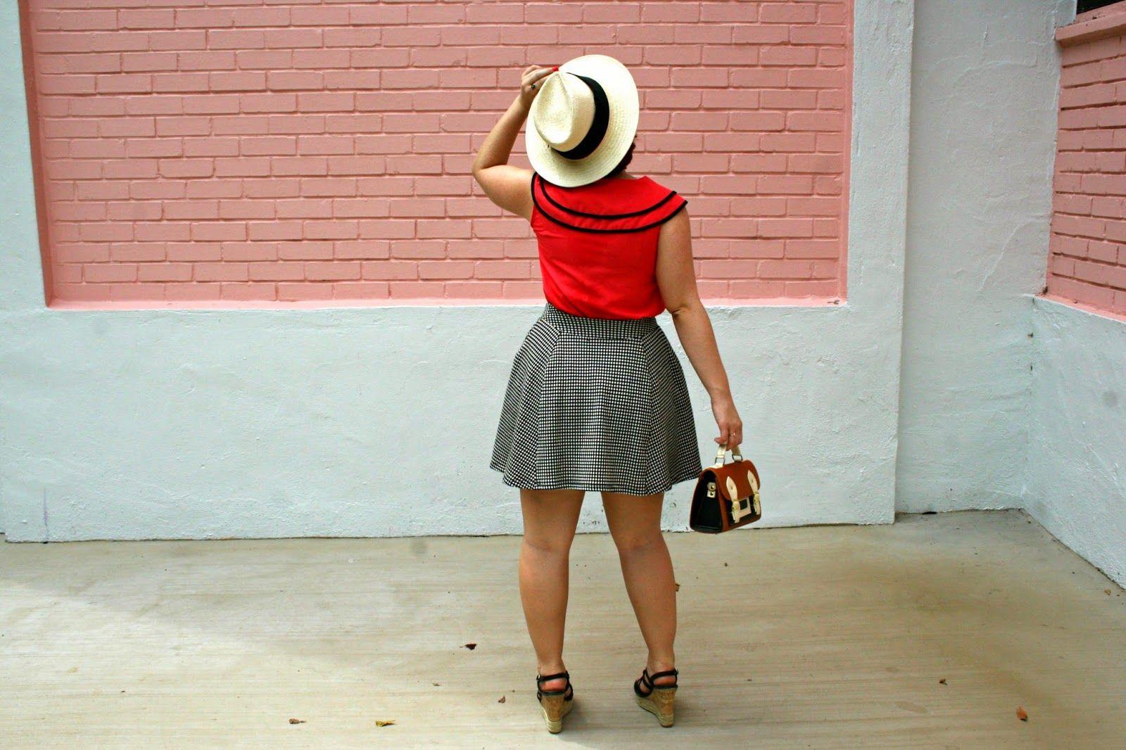 The Belted Pear | peter pan collar | skater skirt | summer fashion | spring fashion | vintage fashion