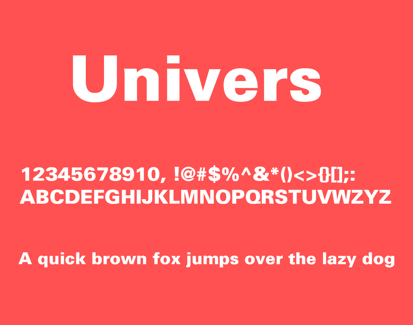 Univers Font Free Download - Free Fonts | Sans Serif Fonts | Free