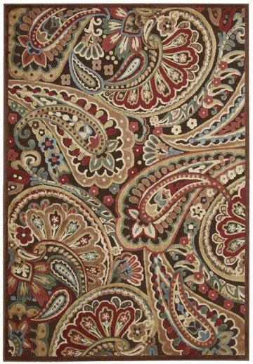 Paisley Rug For A French Accent