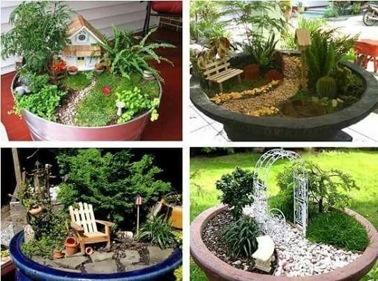 Resultado de imagen para como hacer una casa con piedras para decorar el jardin jardineria - Como decorar jardines con piedras ...