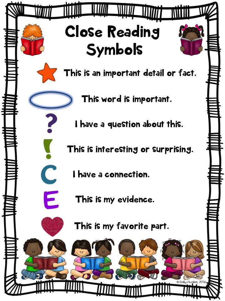 Start Close Reading With Your Back To School Literature And Informational Text These Annotation Symb Close Reading Symbols Close Reading Reading Anchor Charts