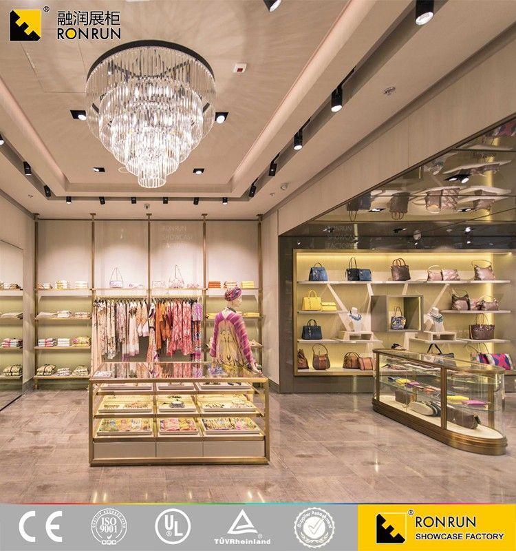 Rcs2196 Wholesale Garment Retail Store Furniture/clothing Showroom ...