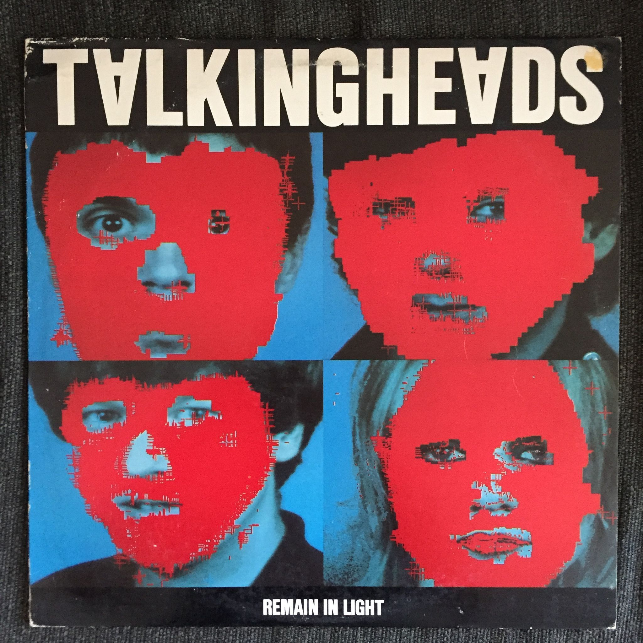 Talking Heads Remain In Light Used Lp Remain In Light Album Covers Album Cover Art