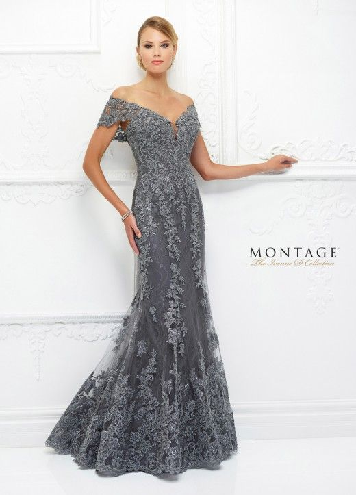 Ivonne D Exclusively for Mon Cheri 118D12 Off-The-Shoulder Formal Dress -   17 beauty Dresses hijab ideas