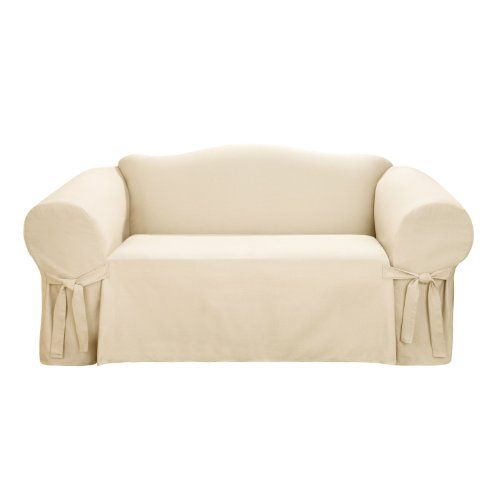 Pin By Courtney Redford On Decor Slipcovers Loveseat