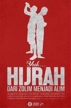Hijrah Dari Zolim Menuju Alim Motivasi Agama Kutipan