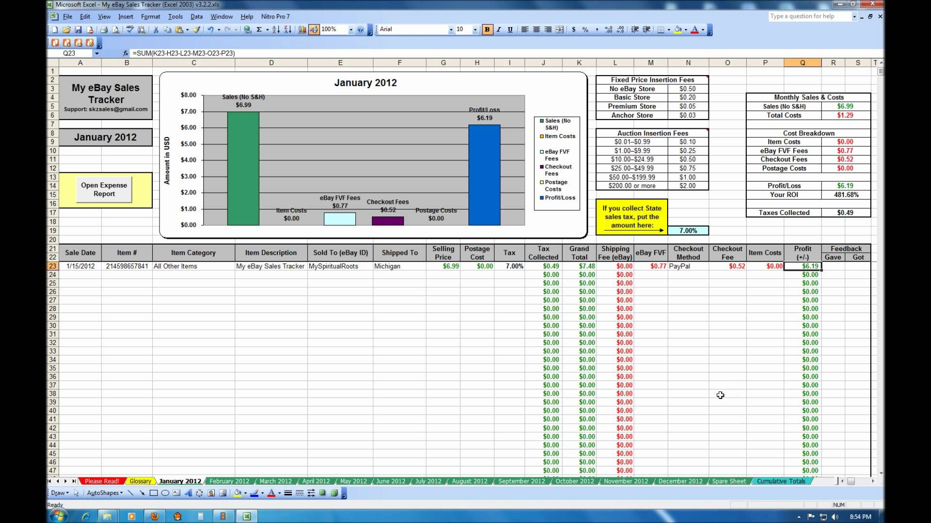 Accounts Payable Tracking Spreadsheet Spreadsheet Template Excel Templates Sales Tracker