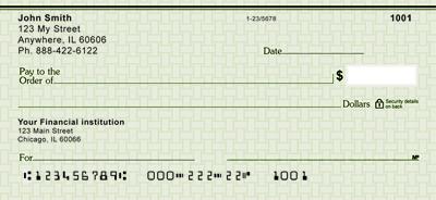 Green Safety Personal Checks Cheap Personal Checks Business Checks Personal Checks