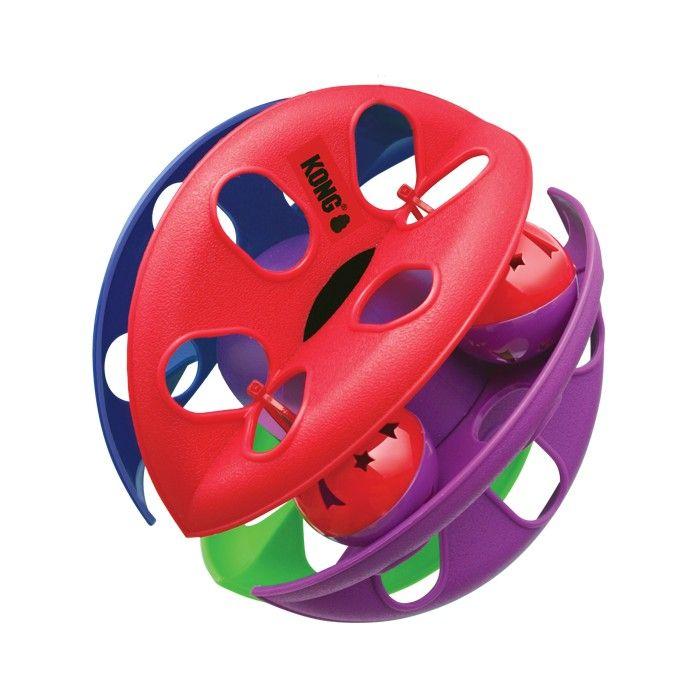 € 9,95 | De KONG Criss Cross is een alles-in-één bal van plezier! Met de verleidelijke LED bal en het belletje zorgt de Criss Cross voor uren speelplezier. D...