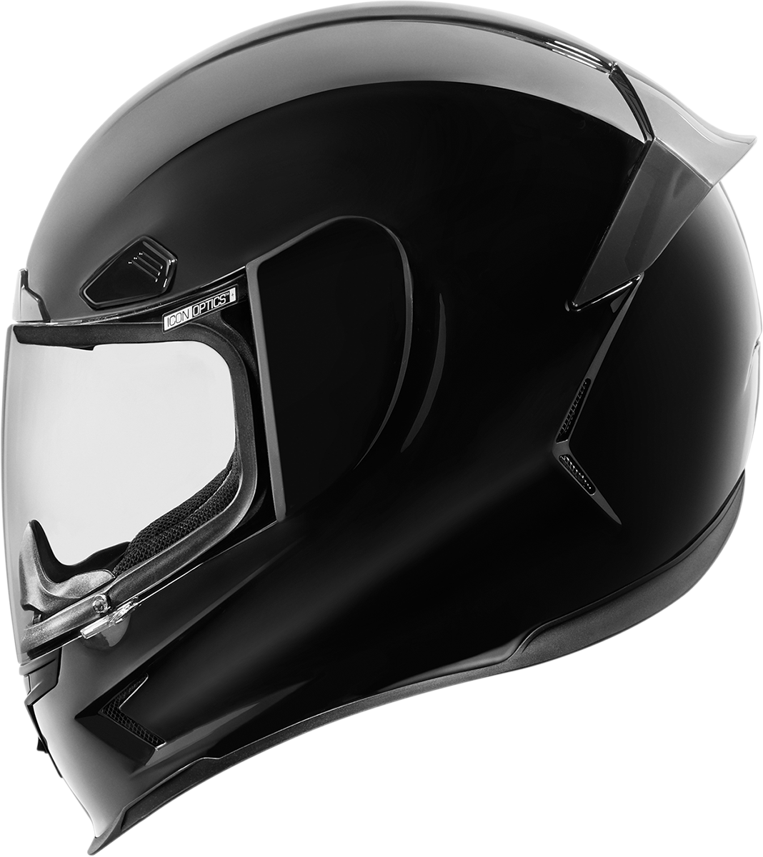 Airframe Pro Gloss Black Products Ride Icon (With