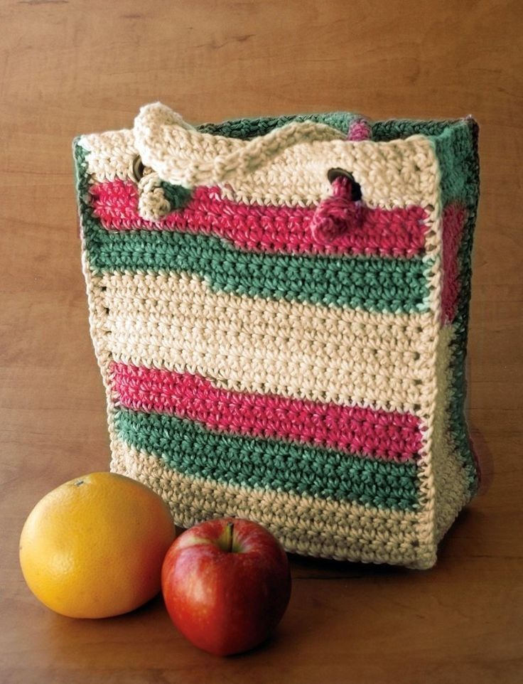 Beautiful crochet bag – Free Pattern Do you want to go shopping with ...
