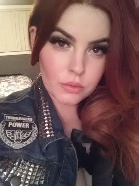 This bday girl is ready for a drink! Yesss.    Tess Munster
