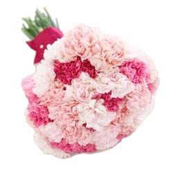 Flower Delivery In Bombay Send Flowers From Online Florist Carnation Wedding Bouquet Carnation Wedding Carnation Bridal Bouquet