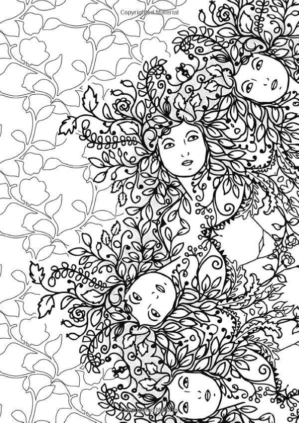 Enchanted Forest Coloring Pages - Bing images | coloring pgs ...
