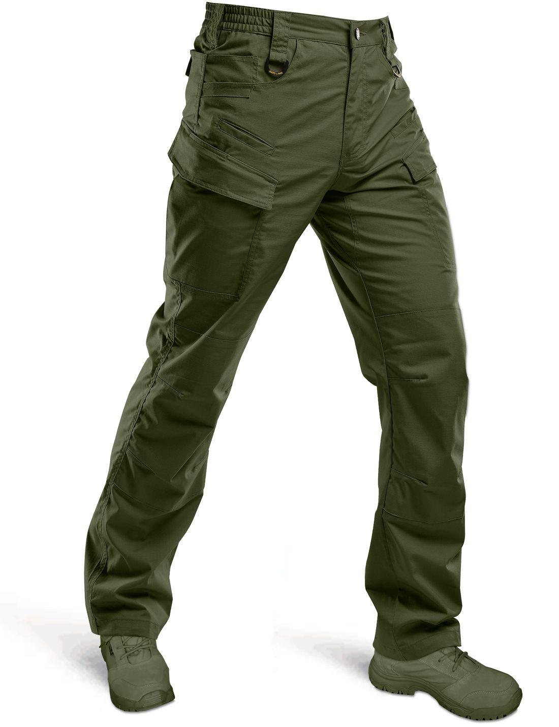 HARD LAND Mens Cargo Work Shorts Quick Dry Waterproof Tactical Shorts Hiking