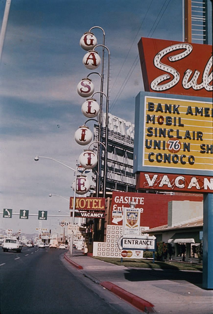 Vintage Las Vegas Photo Photo Wall Collage Aesthetic Wallpapers Wallpapers Vintage