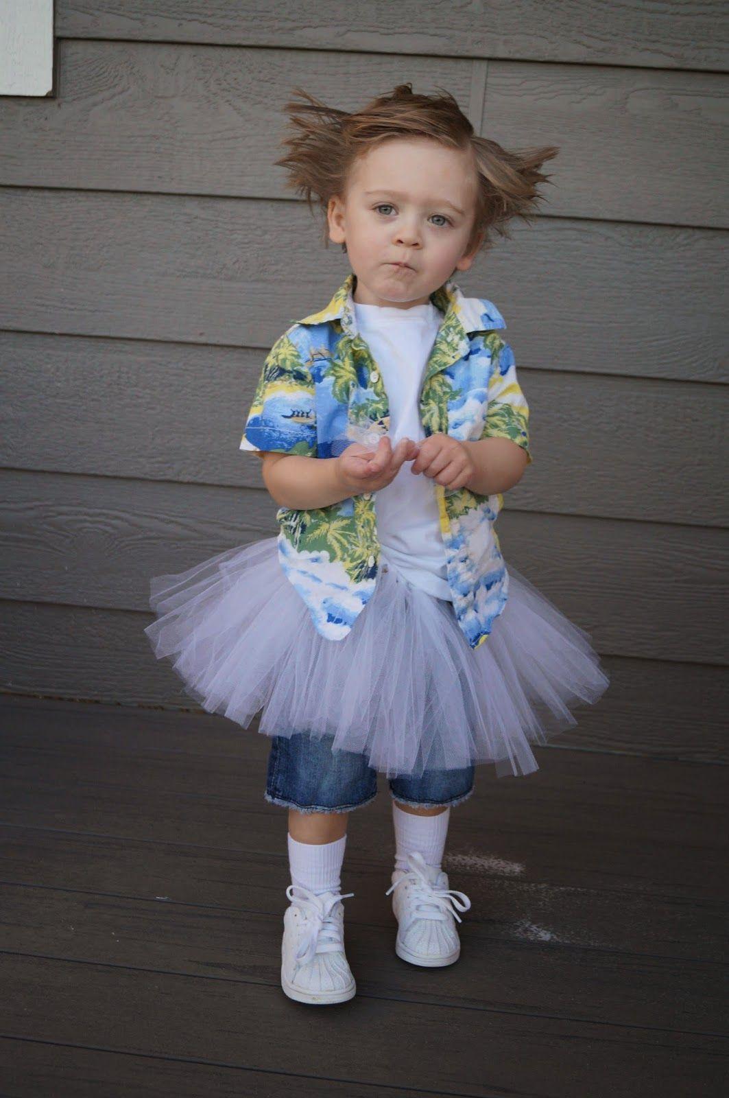 DIY Ace Ventura Pet Detective Toddler Costume   b e c k ...