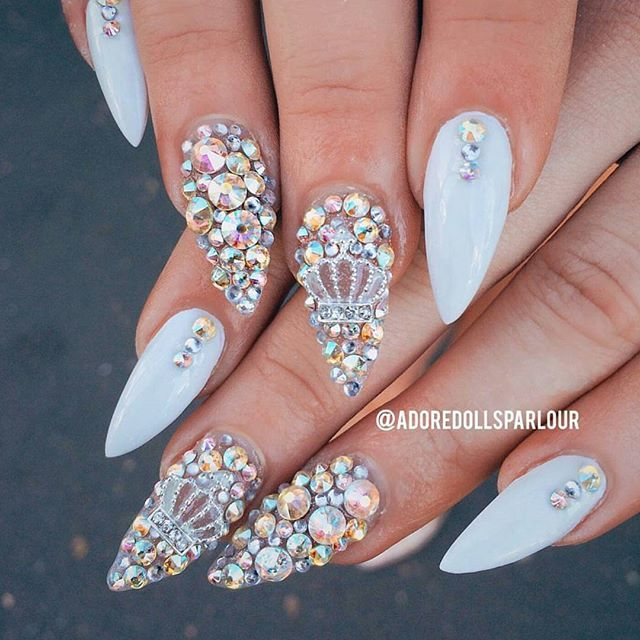 Pinterest missktw bling nails pinterest nail nail bling nails prinsesfo Image collections