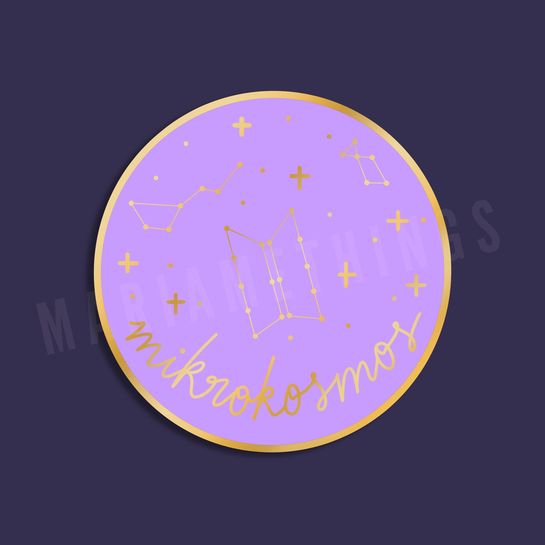 BTS Mikrokosmos Pin  BTS Pin