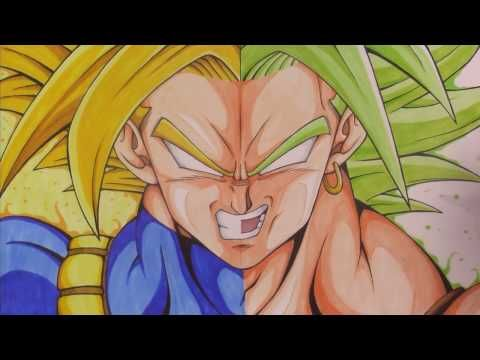 Dragon Ball Super Broly Drawing Www Picturesso Com