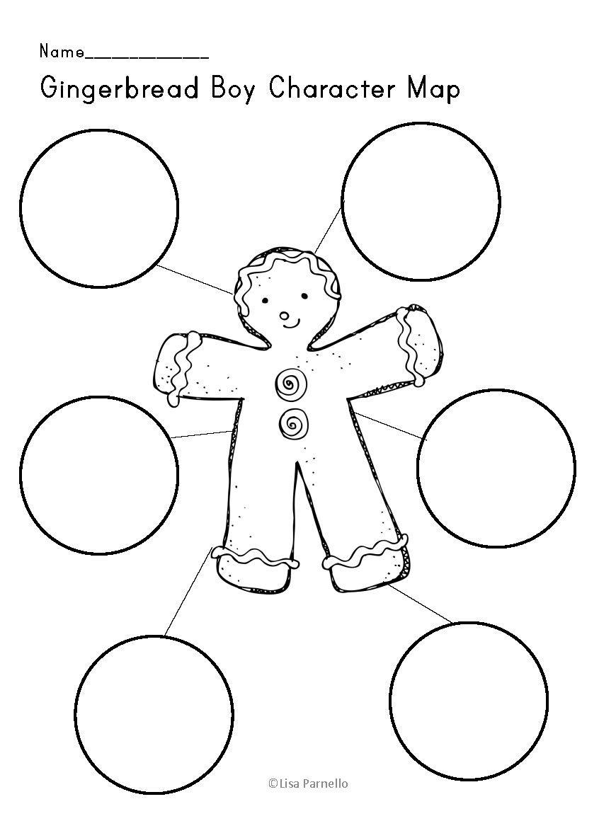 Gingerbread Man Mini Unit with FREEBIE! My Big Sale