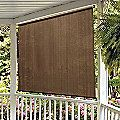 Roll Up Solar Shades Block Heat And Glare From Sun But Let Breezes