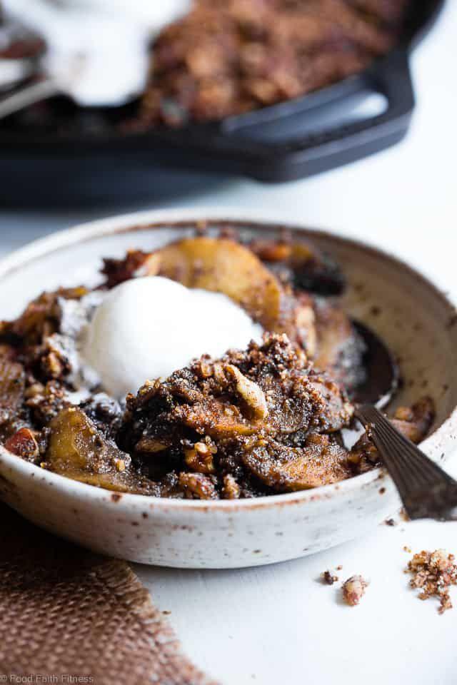 Paleo Vegan Apple Crisp With Coconut Flour Food Faith