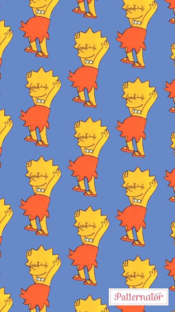 Wallpaper Lisa Simpson