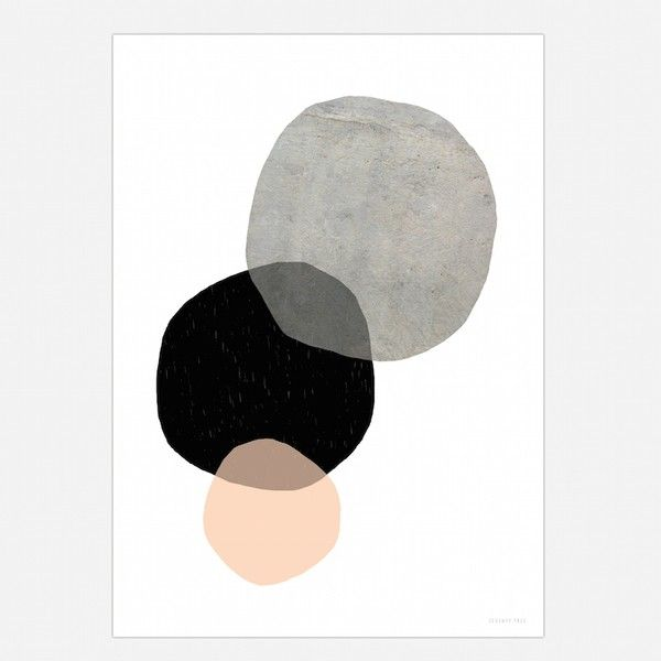 We Love The Colours In This Art Print Black Concrete Grey And Blush Very On Trend Looks Great In Any Minimalist Or Scandi Style I Fotos Decoração Quadros
