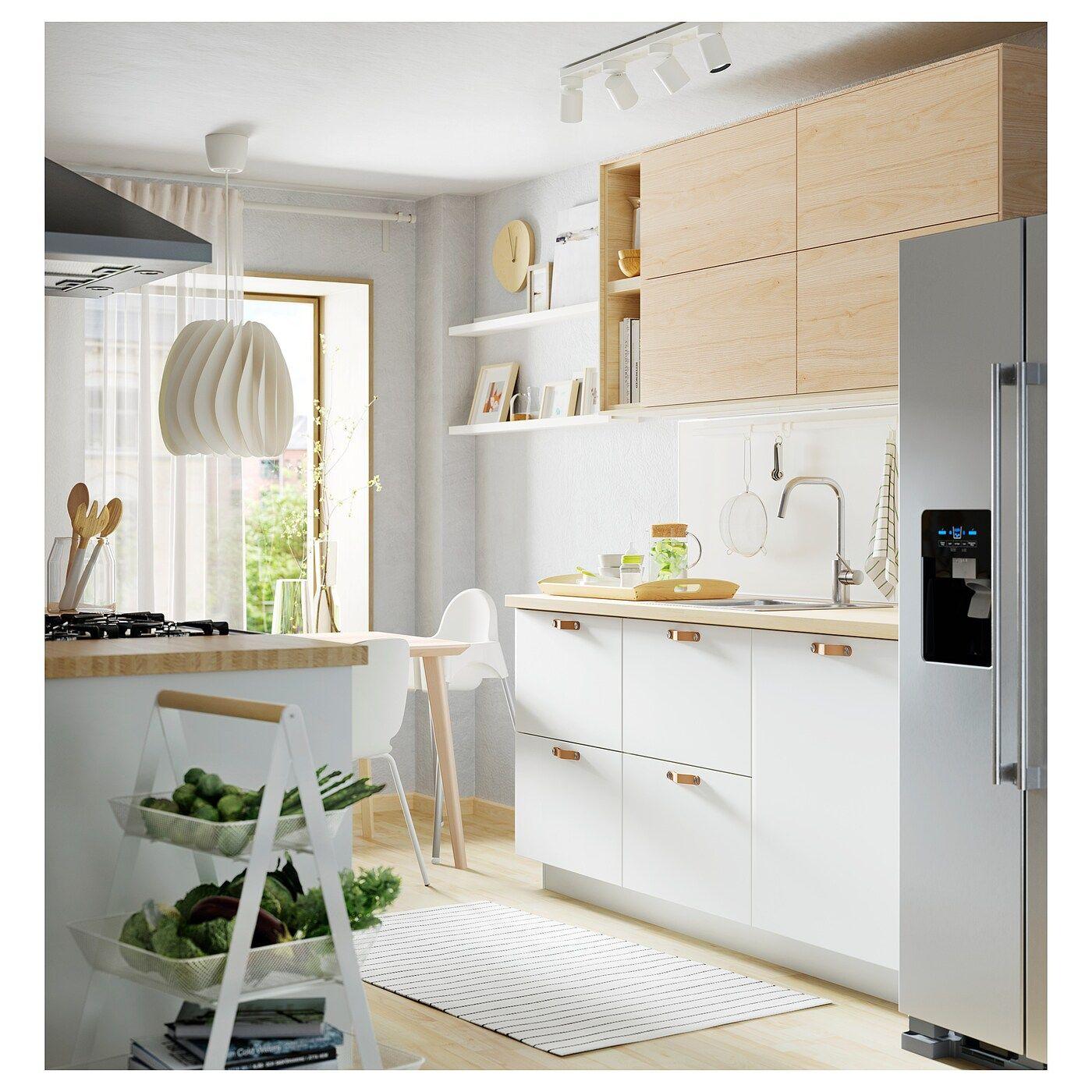 Pinnarp Arbeitsplatte Esche Furnier Ikea Osterreich Countertops Kitchen Niche Wood Countertops