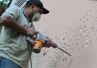 Smooth Stucco To Look Like Concrete First Wall Is