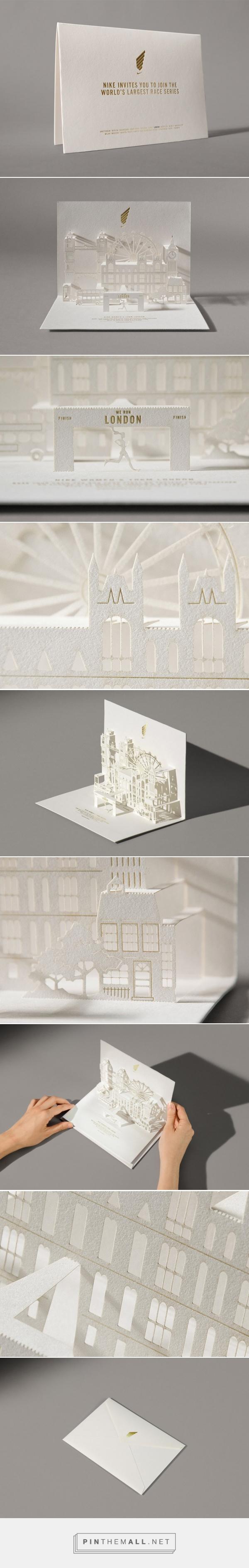 NIKE We Run London Invitation by Happycentro | Inspiration Grid | Design Inspiration - created via https://pinthemall.net