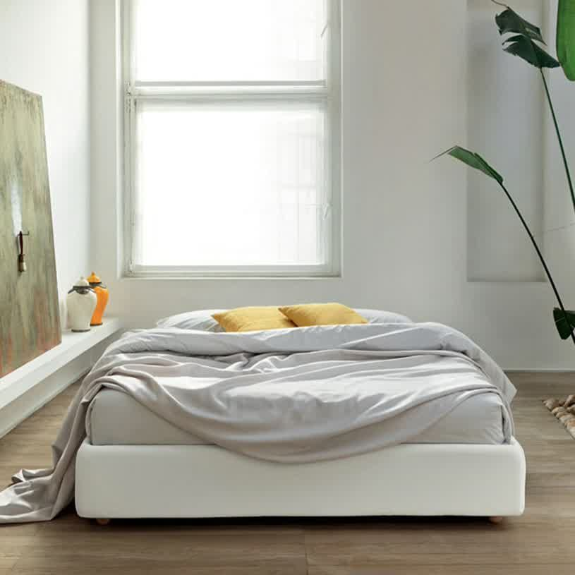 Decorating Beds Without Headboards Bed Without Headboard Most