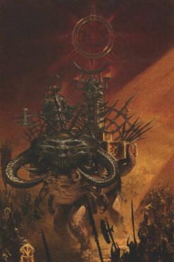 Warhammer Battle-Char du chaos-Faux