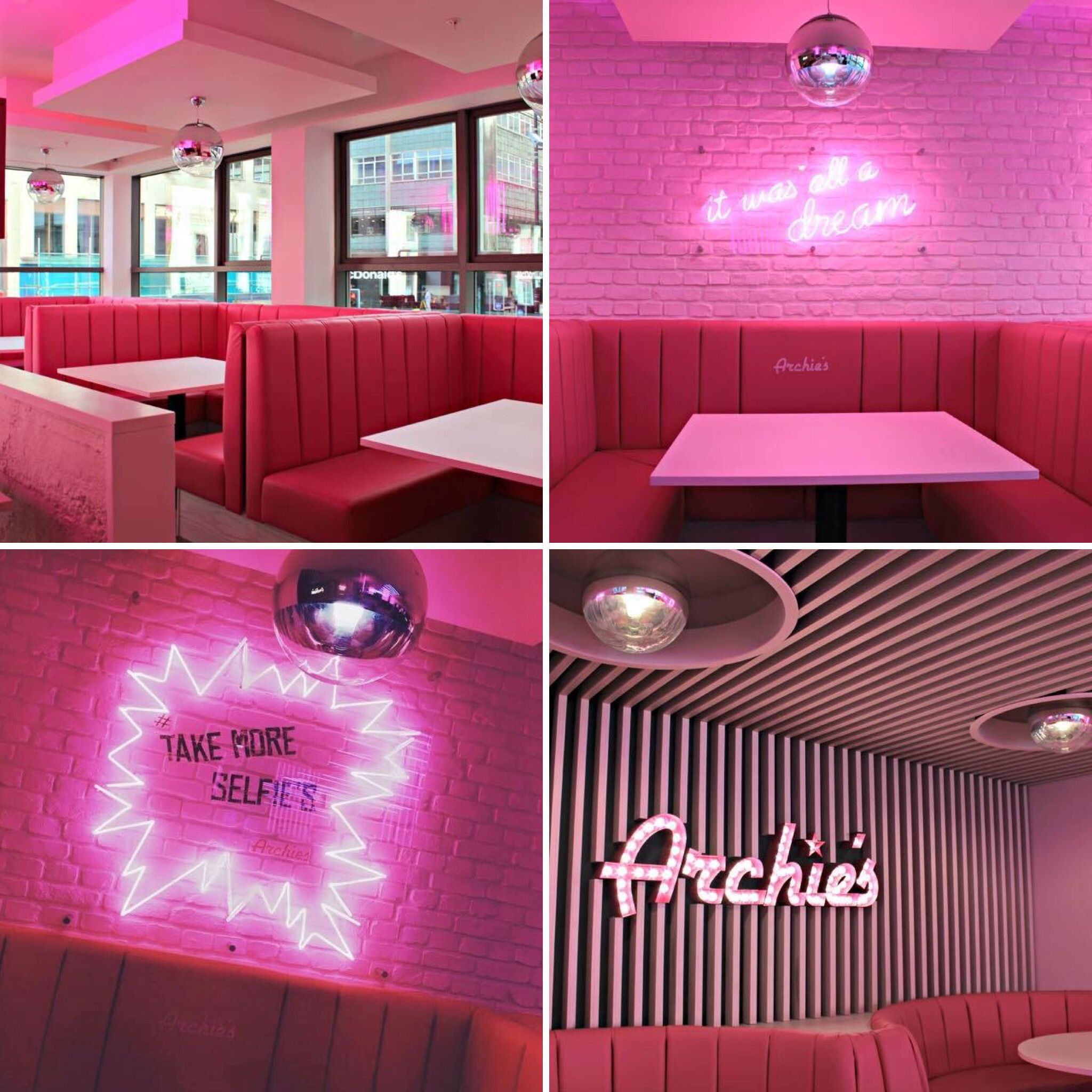 archies, liverpool. restaurant design | dv8 designs - completed