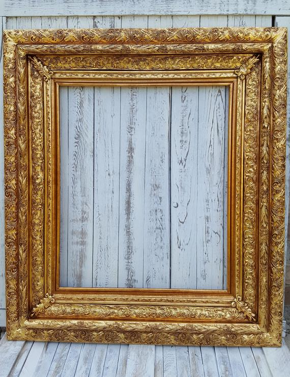 Baroque Colonial Style Frame Antique Bronze Wedding Frame Colonial Decor Custom Picture Frame Go Custom Picture Frame Wood Picture Frames