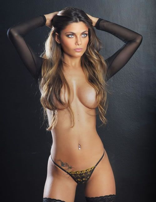 Hot Mixed Girl #6! Her background is unknown, but her stunning eyes, differed hair, and smashing body blows us all away.