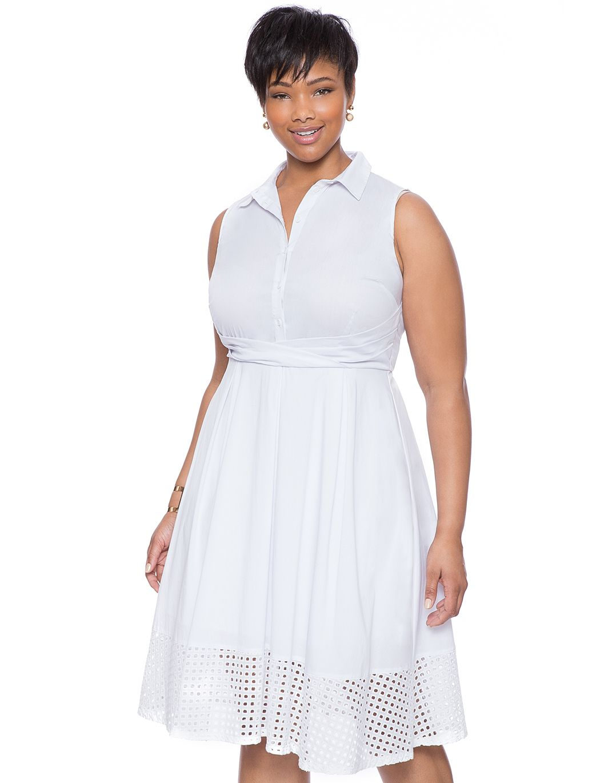 Studio Collared Shirt Dress Women S Plus Size Dresses Dress Shirts For Women Plus Size Dresses Plus Size Clothing Online [ 1370 x 1050 Pixel ]