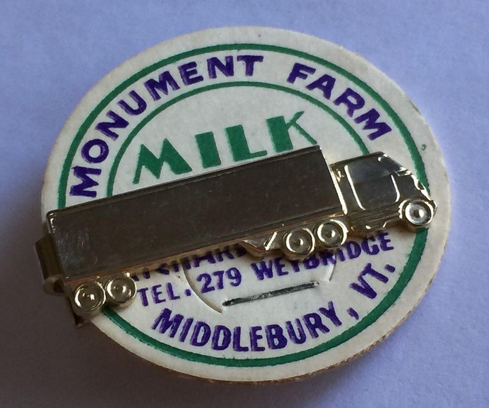 99730fcac Vintage Novelty Advertising Long Haul Trucking Tie Clasp Money Clip TRUCKER  PIN | eBay