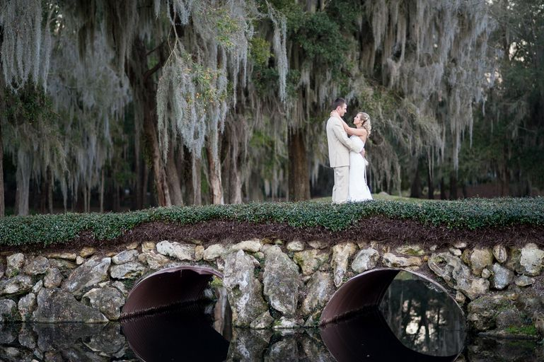 outdoor wedding on bridge - Google Search