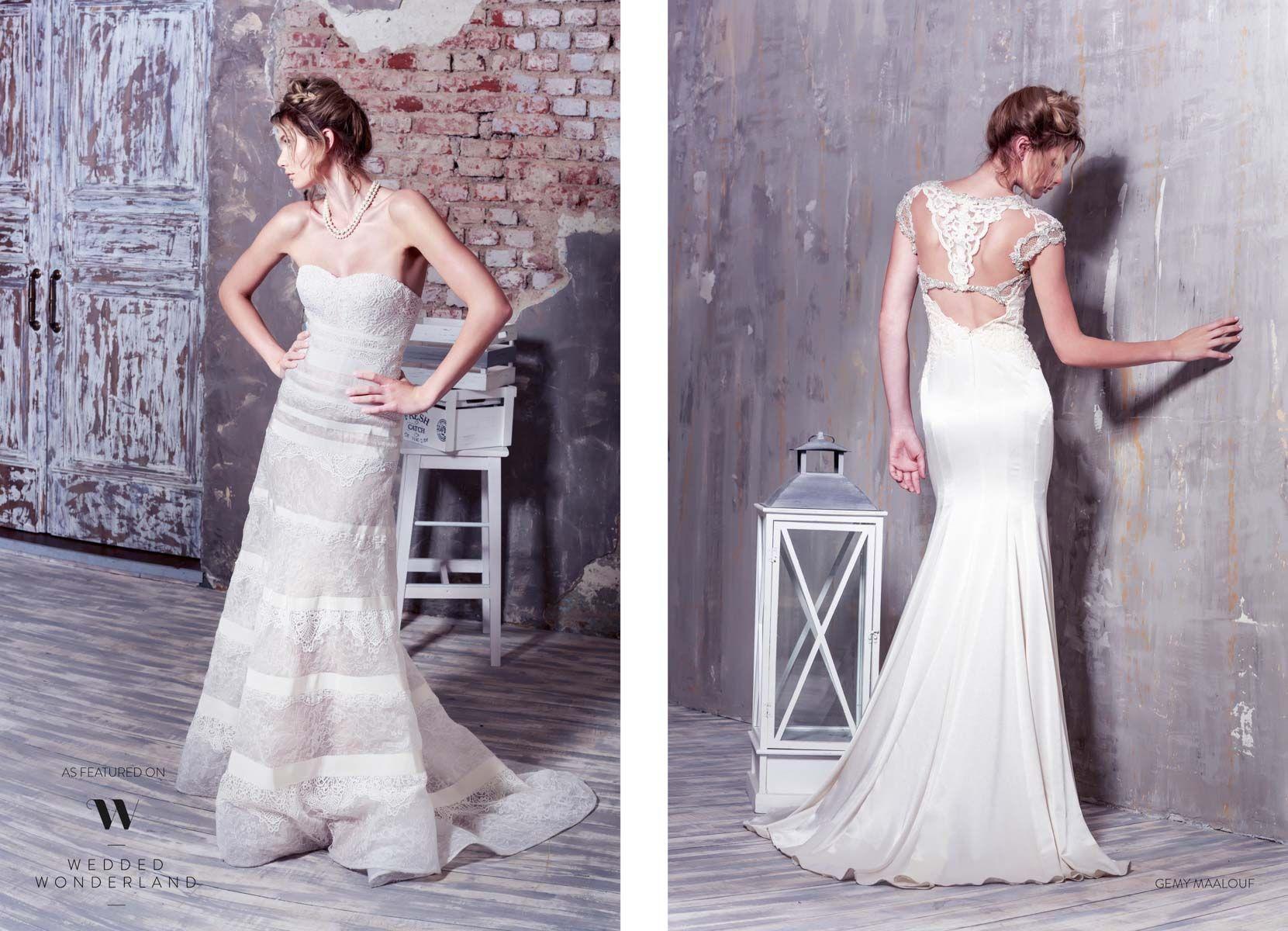 Gali Karten 2019 Wedding Dresses: WW EXCLUSIVE: GEMY MAALOUF SPRING 2015
