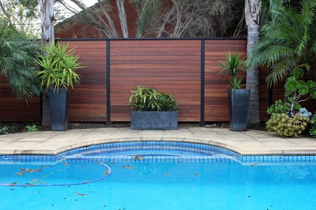 Adding Character And Further Privacy Around The Pool Area This