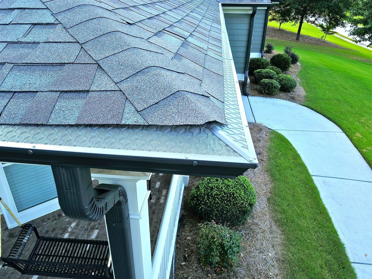 Take Gutter Cleaning Off Of Your Spring Cleaning List Gutter Protection Gutter Guard Cleaning Gutters