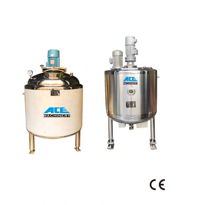 Factory Price Mixer With Stainless Steel Agitated Tank Liquid Soap Steel Stainless