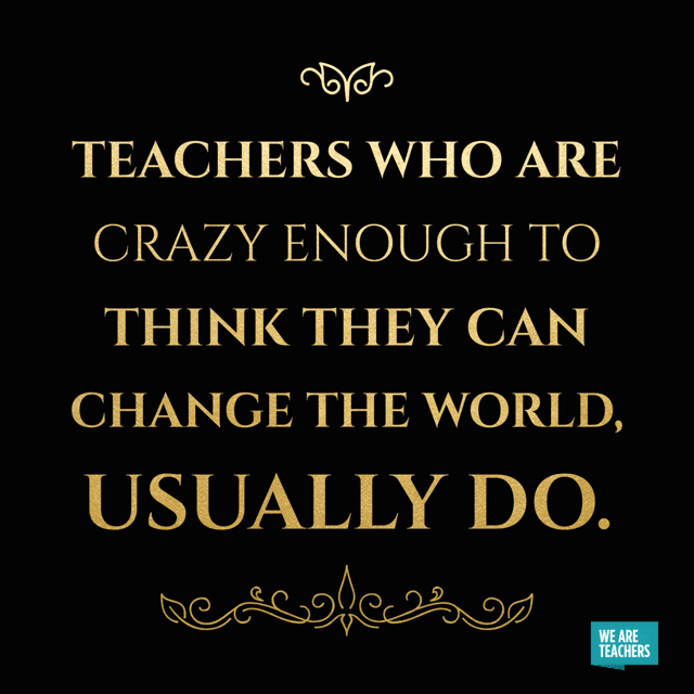 15 Funny and Inspiring DEVOLSON Teacher Memes for the Fall is part of Teacher quotes inspirational, Teacher quotes funny, Teaching quotes, Teacher inspiration, Teacher motivation, Inspirational quotes for students - There are still four long weeks until Thanksgiving break, so here's some of our favorite inspiring quotes and teacher humor to help you see it through