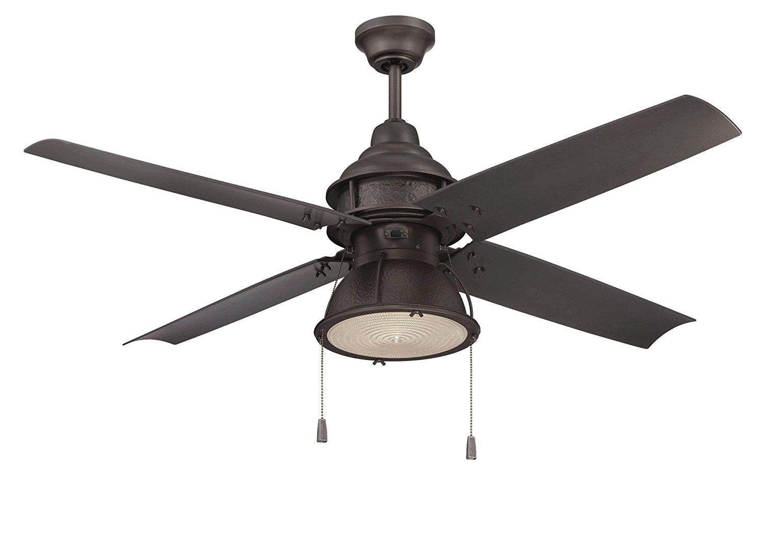 Craftmade Par52esp4 Port Arbor Espresso 52 Inch Outdoor 4 Blade Ceiling Fan With Light