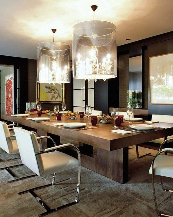 15 High End Contemporary Dining Room Designs: Be Inspired By The Most Stylish And