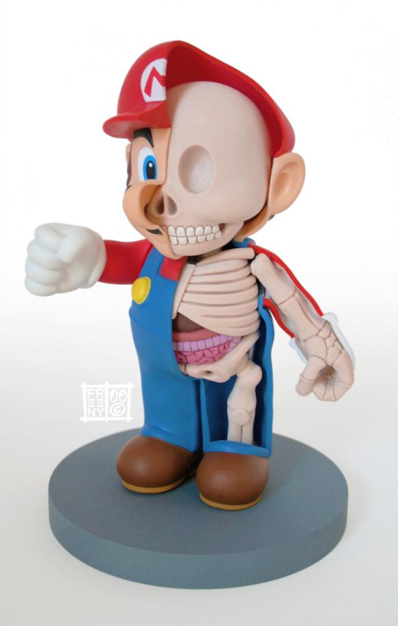 Mario Dissection - Jason Freeny | Pop Keultsheur | Pinterest