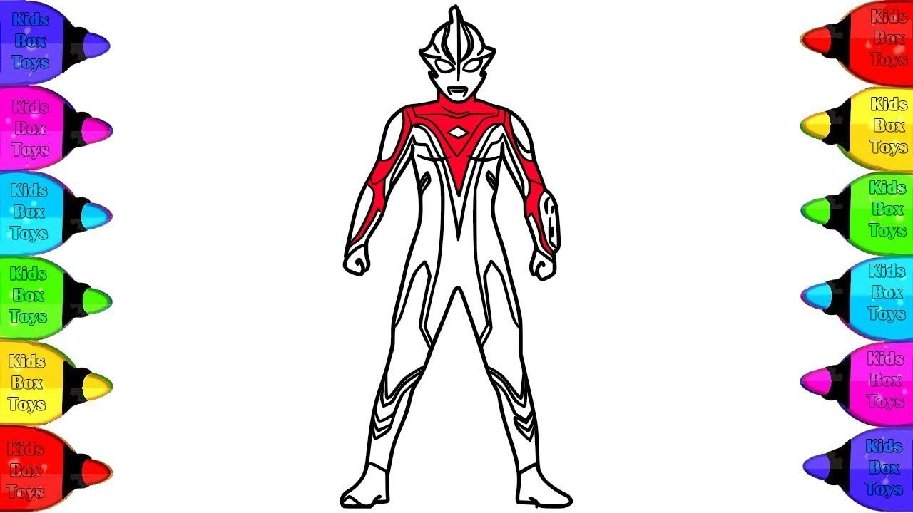 Ultraman Zero Coloring pages  Ultraman, Ultraman Tiga, Ultraman