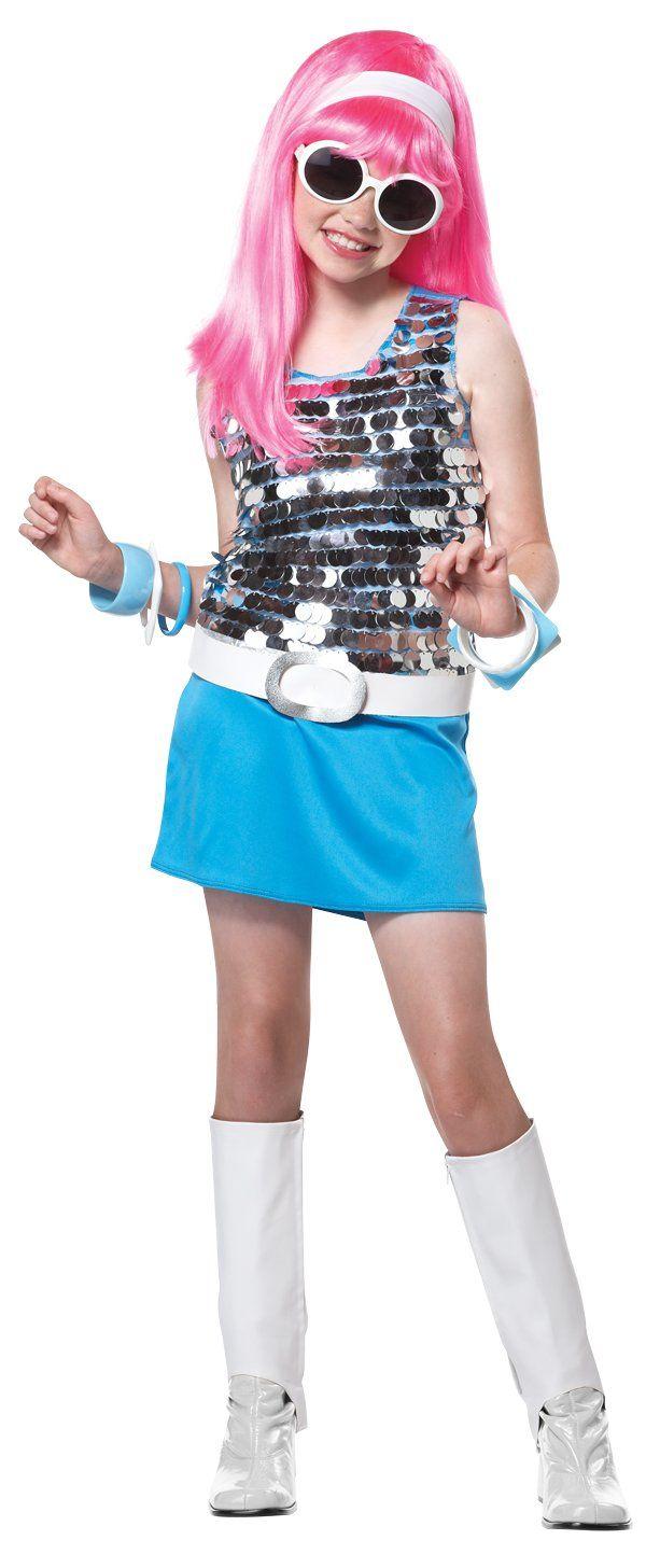 Go Go Girl Rock Star Child Costume Size: Medium Plus   Victoria\'s ...